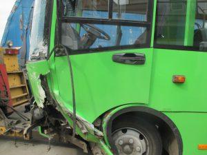 кузовной ремонт автобус Богдан