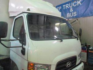 Hyundai HD-78 восстановление геометрии кабины