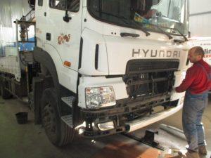 Хендэ Gold кузов ремонт